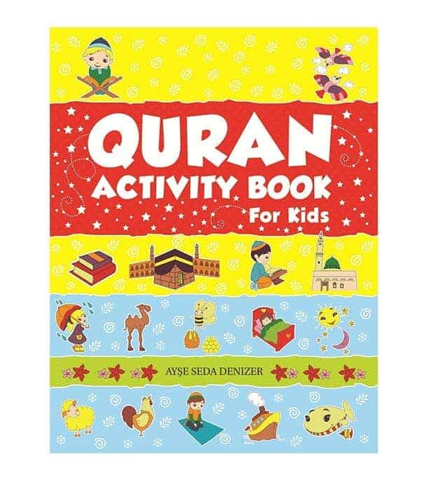 Quran Activity Book for Kids by Ayse Seda Denizer
