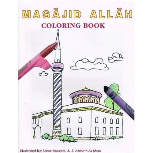 Masajid Allah Coloring Book by Sahebzada Azmath Khan, Samir Biscevic